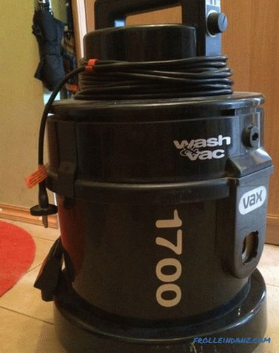 How to choose a washing vacuum cleaner for a house or apartment
