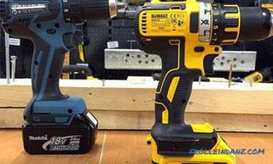 Which cordless screwdriver is better - rating, comparison, polls