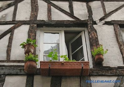 Half-timbered house with their own hands - how to make + photo