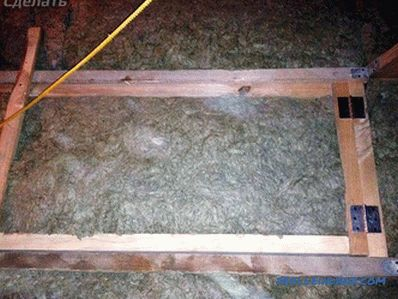 How to make a hatch in the attic