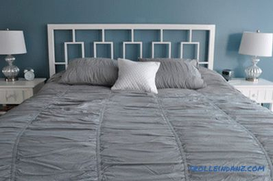 How to make a headboard with your hands
