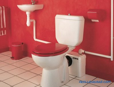 Types of toilet bowls on a bowl, washout, release and materials of production + Photo