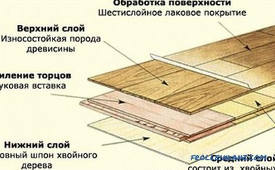 Parquet board: characteristics and properties