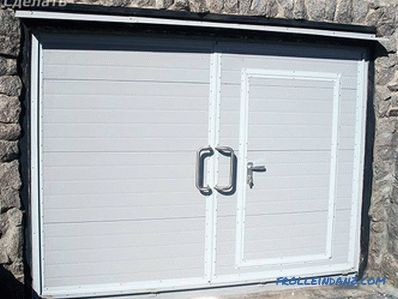 Do-it-yourself iron gates - how to make garage doors (+ diagrams, photos)