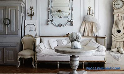 Shabby style chic in the interior