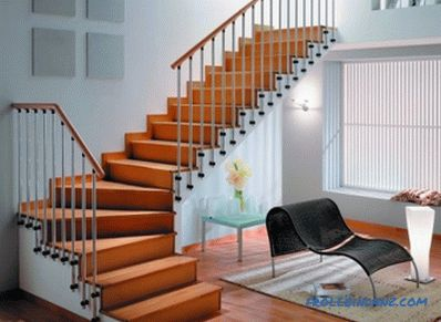 Metal staircase paneling with wood: basic installation rules