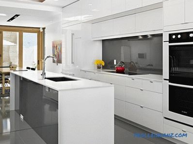 White color in the interior - the rules of application and photo ideas