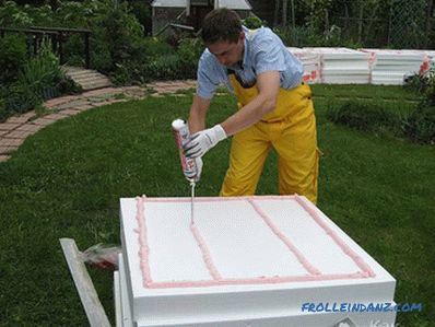 How to build a house of foam concrete