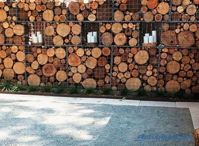 Gabions in landscape design - types and differences of gabions (+ photos)