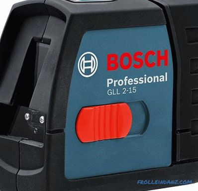 What laser level to choose - choose the level