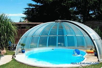 Small pool do it yourself - building technology