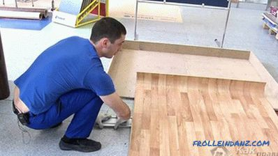 How to remove the bubbles on the linoleum