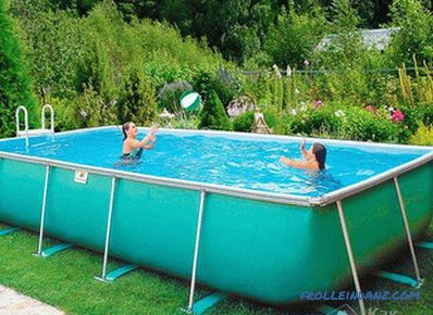 How to make a pool with your own hands (+ photo)