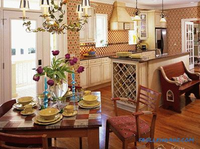 How to combine kitchen and dining