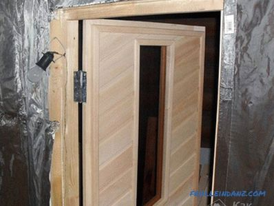 How to make a steam bath in the sauna with your own hands