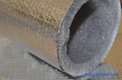 How to warm the sewer pipe - insulation of sewer pipes