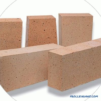 Kiln brick - characteristics and properties of products