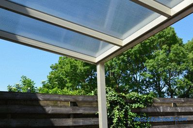 What polycarbonate is best for a canopy and how to choose it