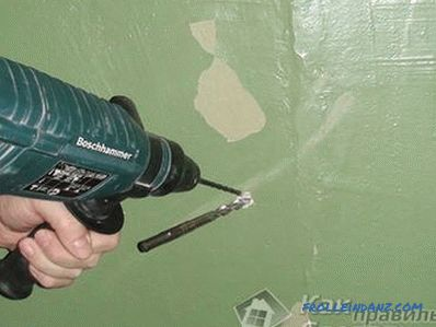How to drill a drill - metal, concrete, tile