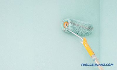 How to paint walls with a roller
