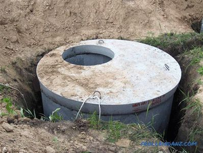 Septic tank for a country house do it yourself