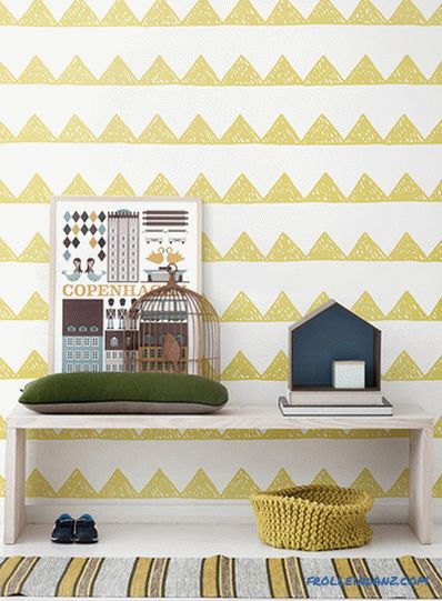 Children's room in the Scandinavian style