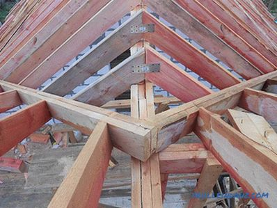 Do-it-yourself multi-tip roof - how to build + schemes