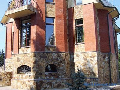 Facing the facade with natural stone - facing technology