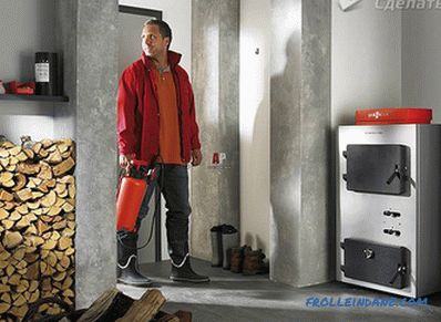 One-pipe heating system of a private house do it yourself