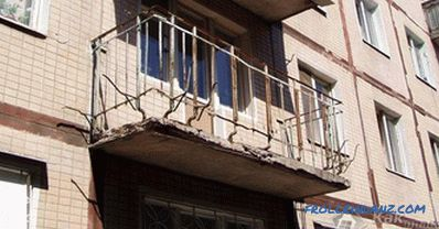 Glazing of a balcony with your own hands + photo