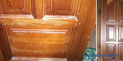 How to varnish the door - instructions for painting the door