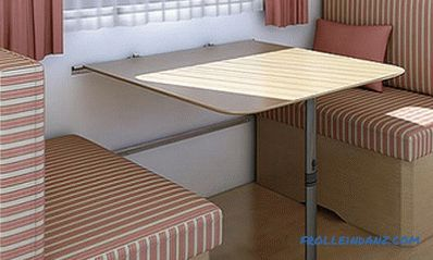 Do-it-yourself folding table: self-assembly