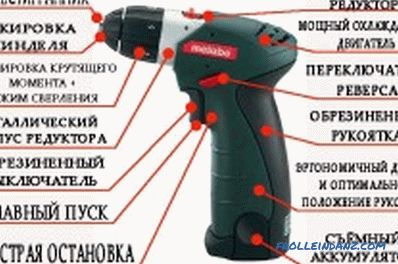 How to choose a good screwdriver: professional or household?