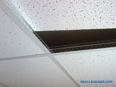 Armstrong ceiling - technical characteristics, types, pros and cons + Photos