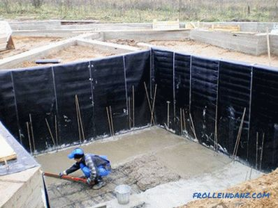 Waterproofing a swimming pool with your own hands - how to make waterproofing