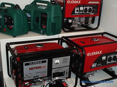 How to choose a gas generator to give