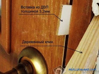 Do-it-yourself interior door repair