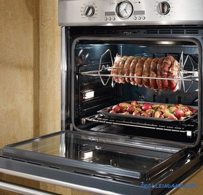 How to choose a built-in electric oven