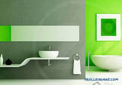 How to align the walls in the bathroom