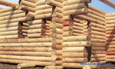 Assembly technology of logs made of logs: characteristics