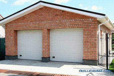 How to build a garage with your own hands