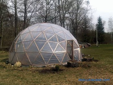 Greenhouse do-it-yourself + photos, drawings, video