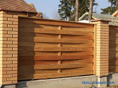 Do-it-yourself decorative fencing - making decorative fencing