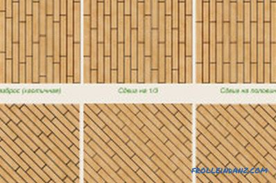 How to lay parquet: tools, materials, laying process