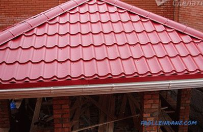 Hip roof do it yourself - making hipped roof + photo