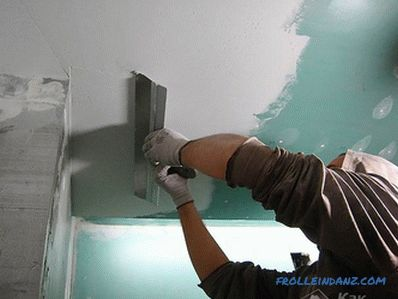 Whitewashing the ceiling with their own hands - water-based paint, lime, chalk