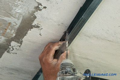 How to make a two-level gypsum ceiling with your own hands