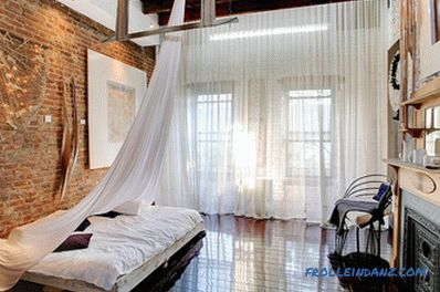 Loft-style bedroom - 52 interior examples