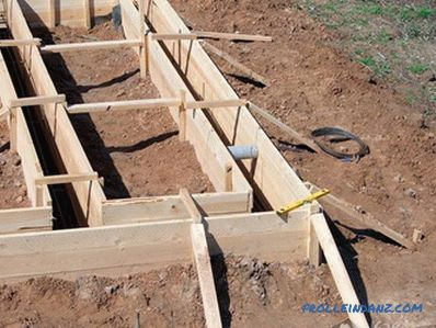 How to make a formwork with your own hands