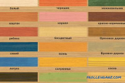 Aging wood: technology to create a decorative effect